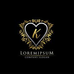 Elegant K Letter Logo