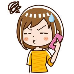電話 女性 不満