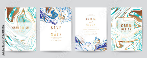 Wedding Invitation Thank You Card Rsvp Posters Modern Card