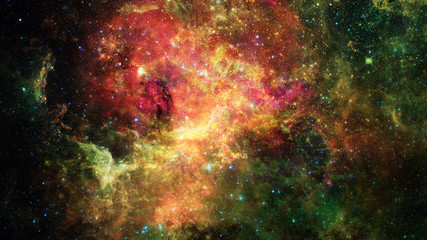 Deep outer space with stars and nebula. Elements of this image furnished by NASA