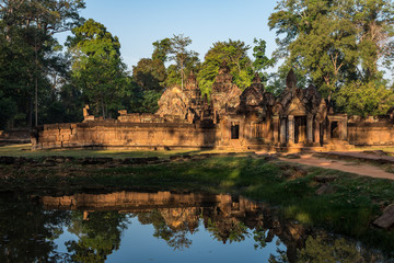Kambodscha - Angkor - Banteay Srei Tempel