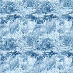 Frozen ice seamless pattern, vector illustration
