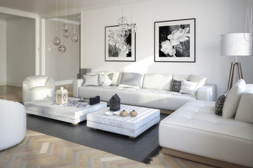 Raumgestaltung: Sitzgarnitur (Gestaltung)