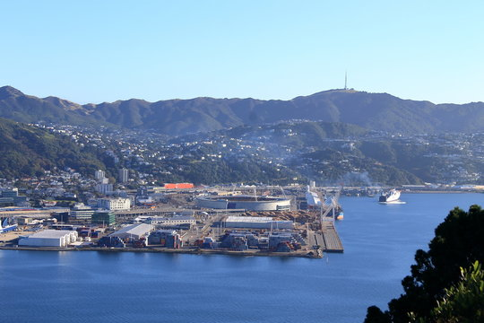 Wellington Harbour, New Zealand