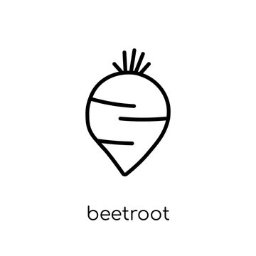 Beetroot icon from Fruit and vegetables collection.