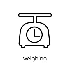 Weighing icon from Electronic devices collection.