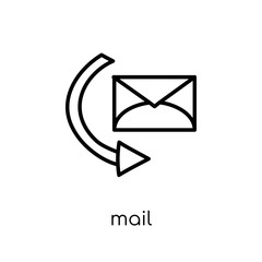 Mail icon from collection.