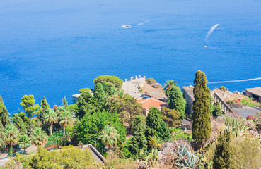 Seascape – view from Taormina, Sicily, Italy