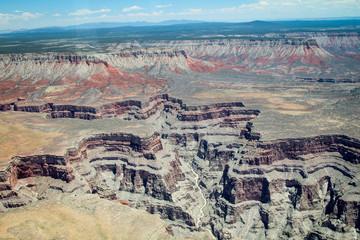Blick über / in den Grand Canyon