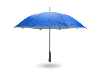 Blue umbrella