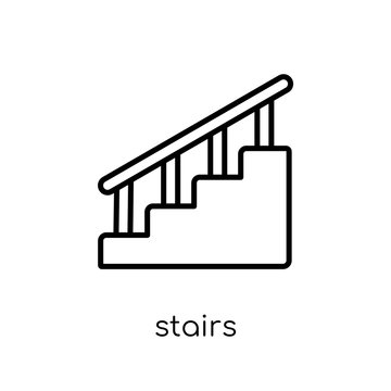 Stairs icon from collection.