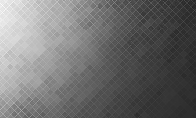 Vector illustration of the gray mosaic background.