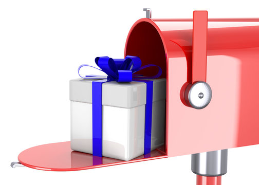 Delivery a Gift - 3D Concept
