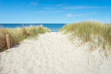 Strandzugang an der Ostsee