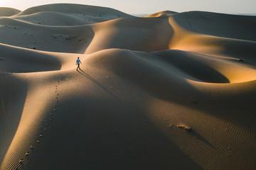Morgenspaziergang in der Wüste