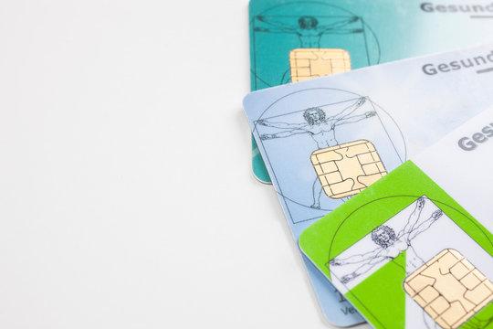 Versichertenkarte mehrere Krankenkassenkarten