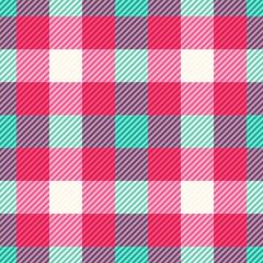 Tartan fabric texture