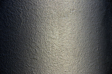 Grey painted metallic texture of painted background