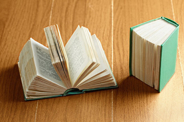Open and closed books