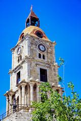 Belltower in Rhodes