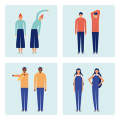 active people breaks