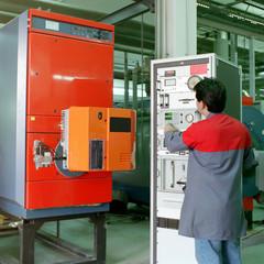 Réglage en usine brûleur à gaz