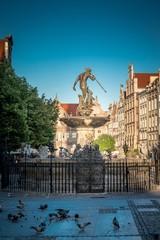 fontanna Neptuna w Gdańsku (Polska)