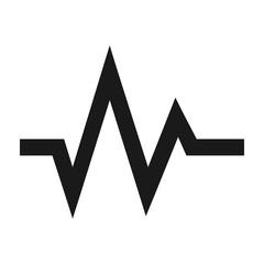 Heartbeat Lifeline Monitor Icon Outline