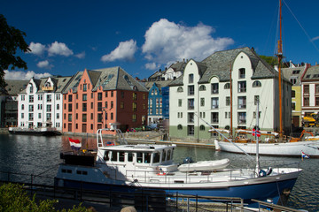 Alesund is a city in Norway.