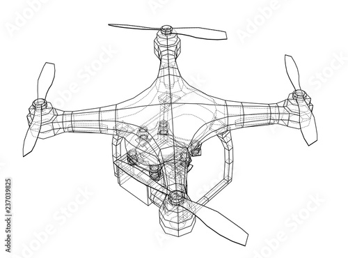 Drone Concept 3d Illustration Stock Photo And Royalty Free Images