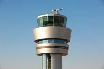 Air traffic control tower Wall mural