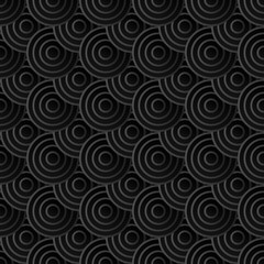 Geometric Round grid background Modern abstract seamless texture