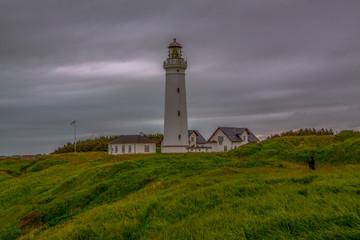 Fototapeta Latarnia morska w Hirtshals obraz