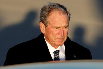 Bush arrives at Joint Base Andrews