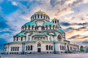 The Aleksander Nevsky Orthodox Cathedral of Sofia, Bulgaria Wall mural