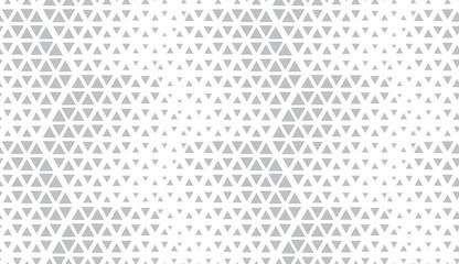 Abstract geometric pattern. Seamless vector background. White and grey halftone. Graphic modern pattern. Simple lattice graphic design.