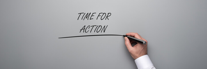 Time for action text