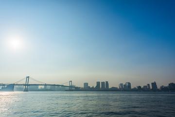 東京のオフィスビル群 Tokyo city skyline , Japan
