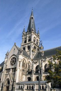 Ville d'Epernay, église Notre-Dame, département de la Marne, France