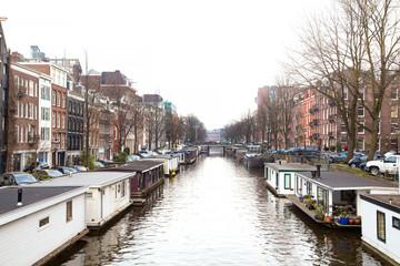 Cityscape of Amsterdam,Holland