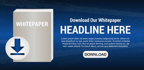 Download Whitepaper Illustration Vector