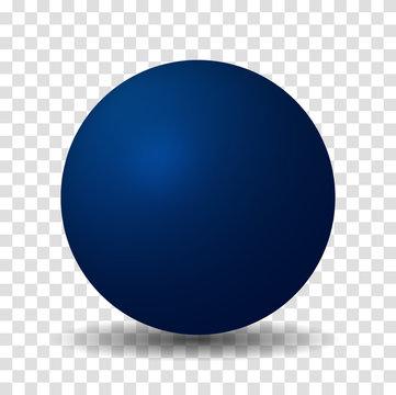 Blue Sphere Ball