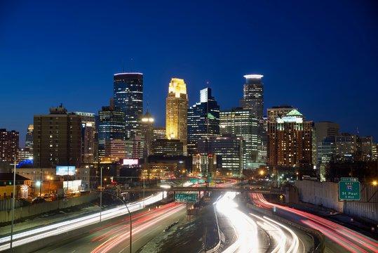 Minneapolis night