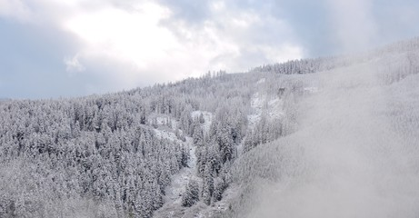 First Snow in West Central Cascades 2018 - 7