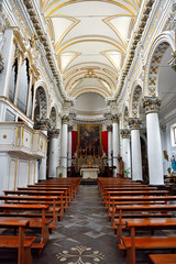 church of the holy souls in purgatory in baroque style built in 1740 ragusa italy