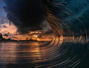 Fototapete - sunrise score