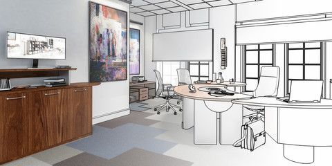 Preview of an Executive Office 02 (panoramic)