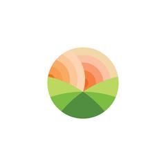 Nature Landscape logo design