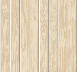 Wooden textured background. Realistic template for design.