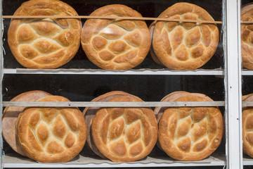 Bread in a Bakery or Baker's Shop